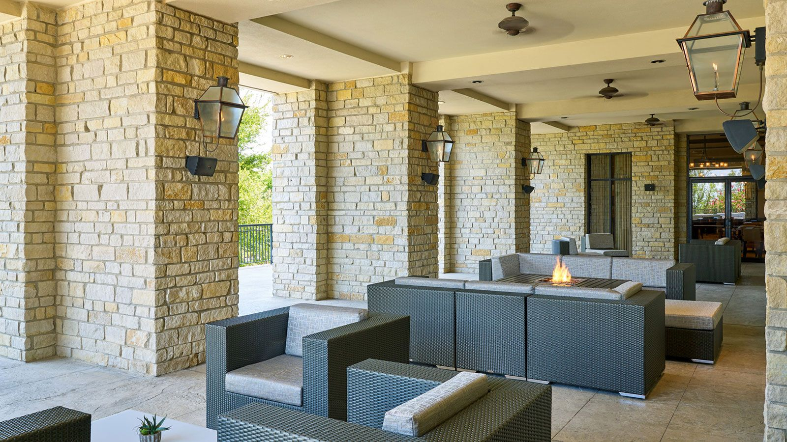 The Westin Stonebriar Hotel & Golf Club -  Legacy Grill - Terrace